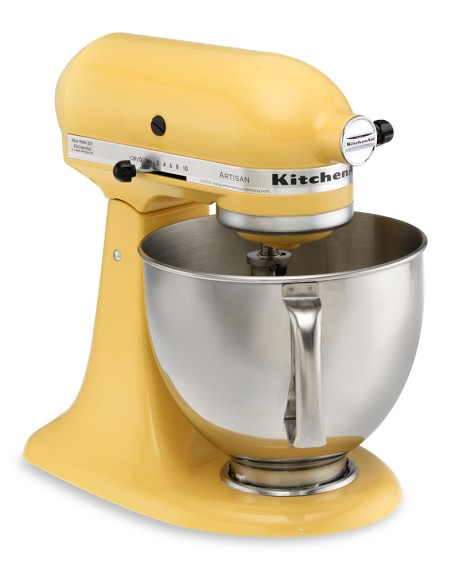 KitchenAid® Artisan Stand Mixer, Buttercup Yellow