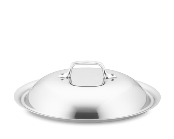 All-Clad Tri-Ply Stainless-Steel Domed Lid, 10