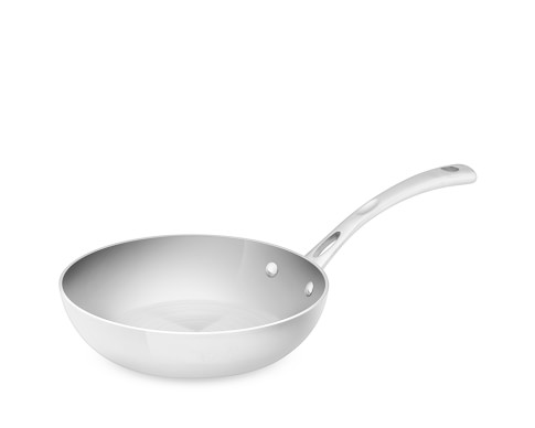 Cuisinart Stainless-Steel Tri-Ply French Skillet, 8