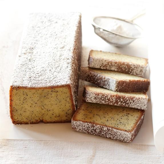 Lemon Almond Poppy Seed Pound Cake