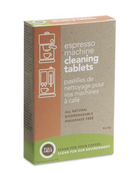 Full Circle Espresso Machine Cleaning Tablets