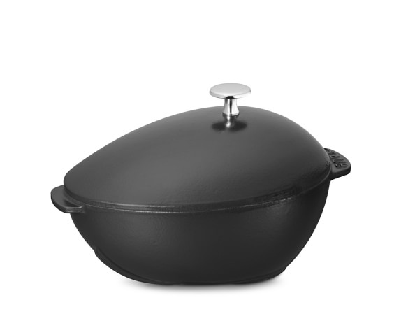 Staub Cast-Iron Mussel Pot, Black