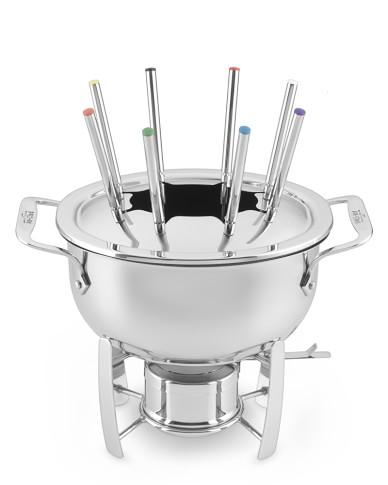 All-Clad Cast Aluminum Fondue Pot