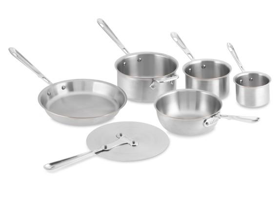 All-Clad Copper Core Bocuse D'Or 6-Piece Cookware Set