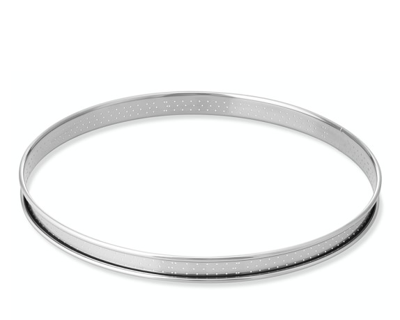Perforated Tart Ring Mold, 24cm