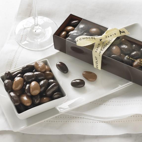 La Maison du Chocolat Dark & Milk Chocolate Covered Almonds