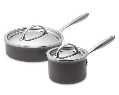 Williams-Sonoma Hard-Anodized Copper Core 4-Piece Cookware Set