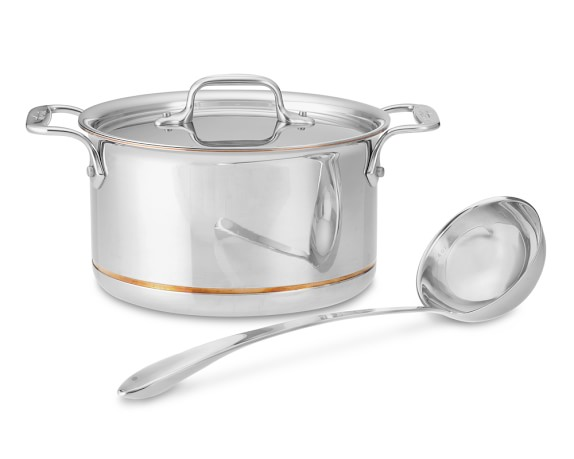All-Clad Copper Core 4-Qt. Soup Pot with Ladle