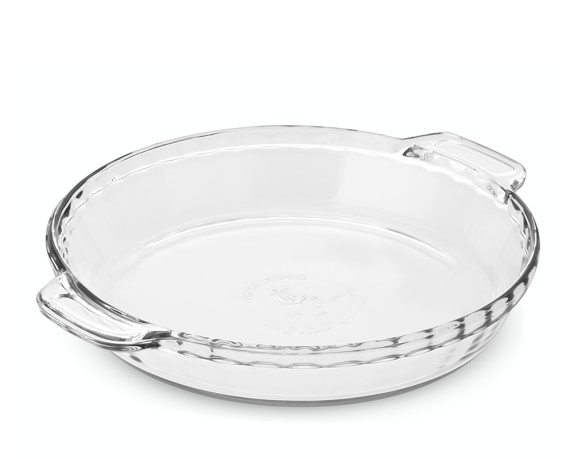 Anchor Hocking Glass Deep Pie Dish, 9