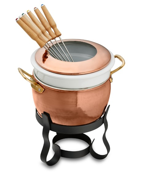Ruffoni Copper Fondue Pot