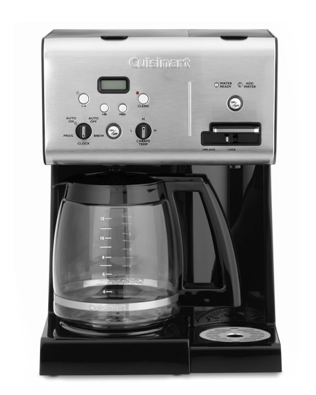 Cuisinart Coffee Plus 12-Cup Programmable Coffee Maker with Hot Water System