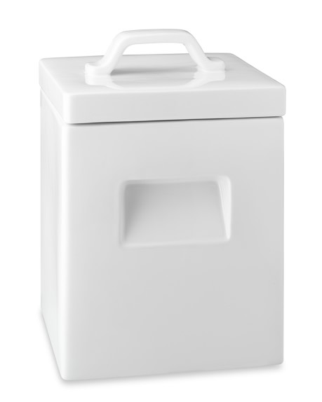 Square Ceramic Canister, Large