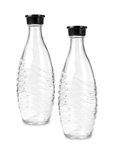 SodaStream Penguin Glass Carafes, Set of 2