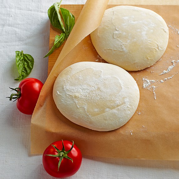 Pizza Dough, Set of 4