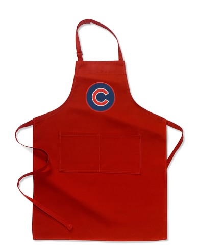 MLB™ Chicago Cubs, Adult Apron, Red