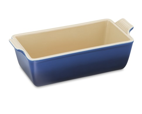 Le Creuset Heritage Stoneware Loaf Pan, Small, Lapis