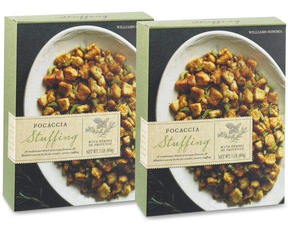 Williams-Sonoma Focaccia Stuffing, Set of 2