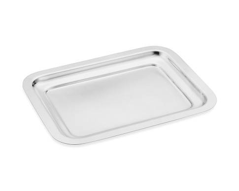 Presidio Silver Plated Mini Rectangular Tray