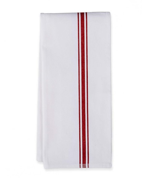 Williams-Sonoma Jacquard Stripe Towels, Set of 2, Red