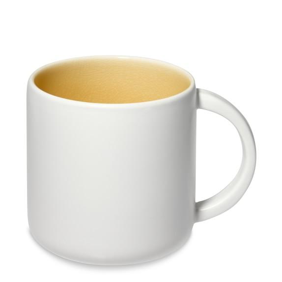 Jars Cantine Mugs, Set of 4, Yellow