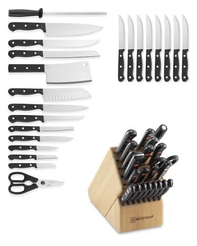 Wüsthof Gourmet 23-Piece Knife Block Set