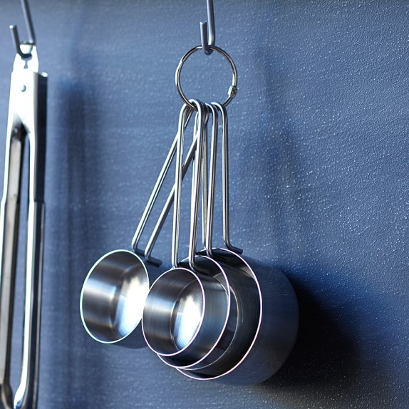Williams-Sonoma Open Kitchen Stainless-Steel Measuring Cups