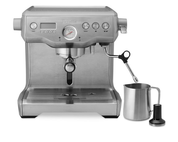 breville twin boiler espresso maker williams sonoma. Black Bedroom Furniture Sets. Home Design Ideas