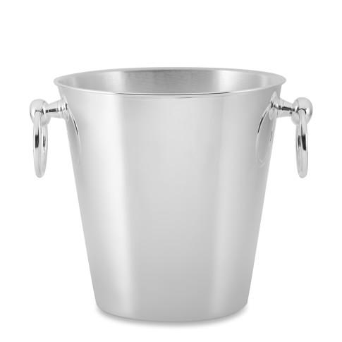 Presidio Silver Plated Ice Bucket, Plain