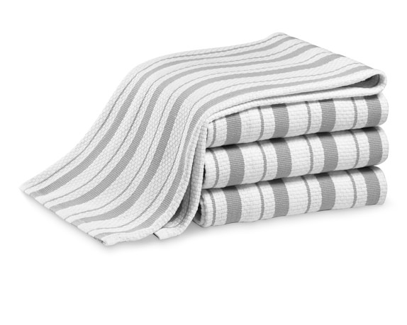 Williams-Sonoma Stripe Towels, Set of 4, Drizzle