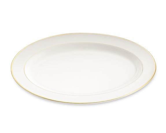 Pickard Signature Oval Platter, Gold