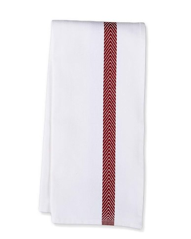 Williams-Sonoma Jacquard Chevron Towels, Set of 2, Red