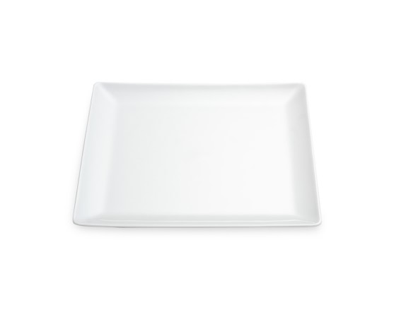 Apilco Zen Porcelain Appetizer Plates, Set of 2