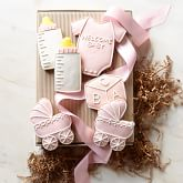 Welcome Baby Girl Cookie Set