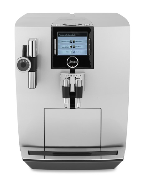 jura impressa j9 one touch tft automatic coffee center espresso maker williams sonoma. Black Bedroom Furniture Sets. Home Design Ideas
