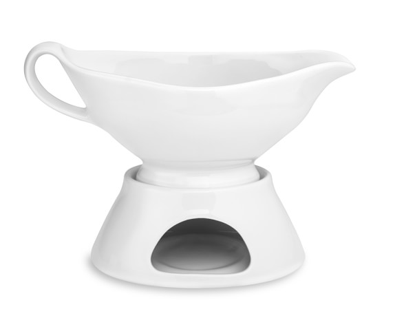 Gravy Boat with Warming Base