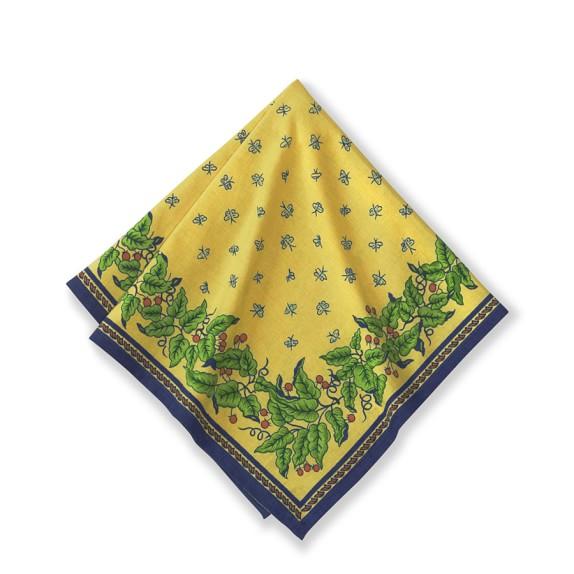 Provence Napkins, Yellow, Set of 4