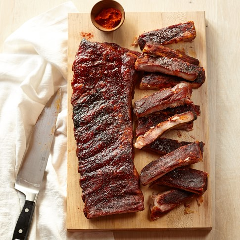 Williams-Sonoma BBQ Rack of Ribs with Dry Rub