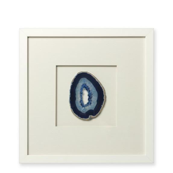 Blue Framed Agate, Set of 2
