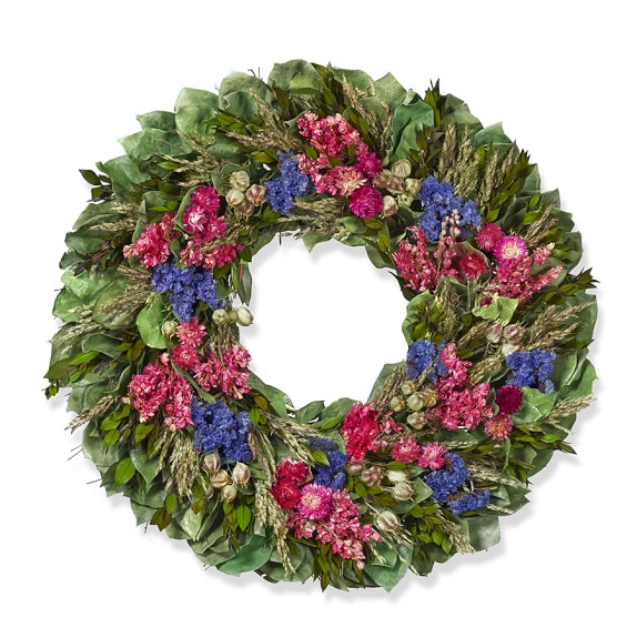 Flower Fields Wreath