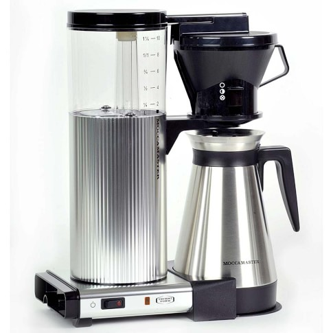 Technivorm Moccamaster Cylindrical Body Coffee Maker with Thermal Carafe