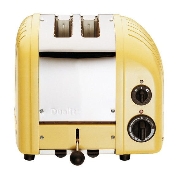 Dualit New Generation Classic 2-Slice Toaster, Canary Yellow