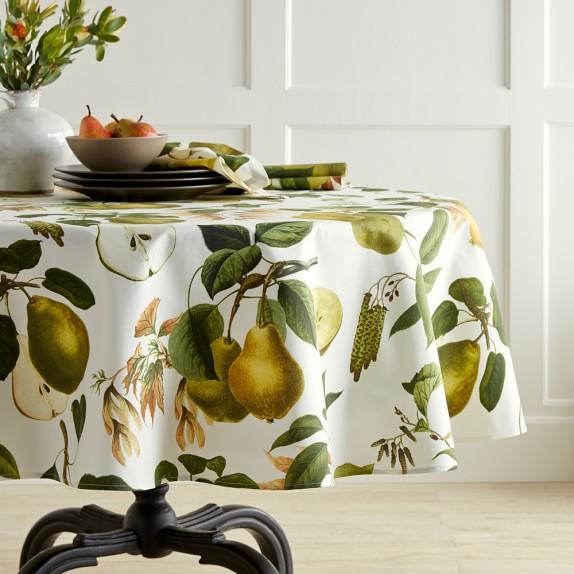 Botanical Pear Tablecloth, 70