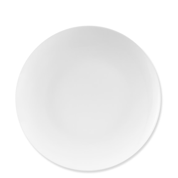 Pillivuyt Coupe Porcelain Dinner Plates, Set of 4