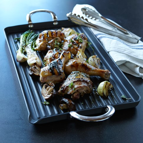 Williams-Sonoma Open Kitchen Hard-Anodized Nonstick Double-Burner Grill