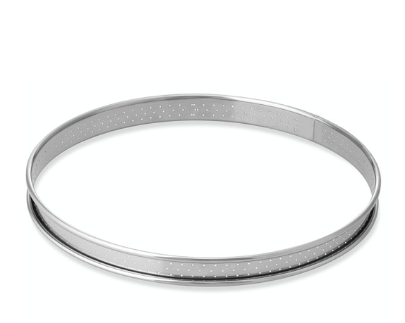 Perforated Tart Ring Mold, 22cm