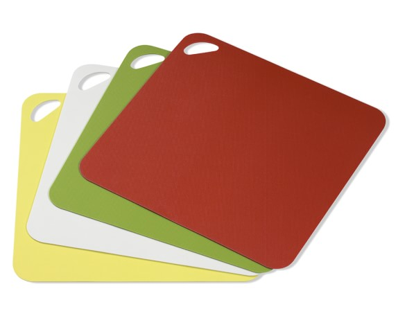 Dexas Flexi Multi-Color Cutting Boards, Set of 4