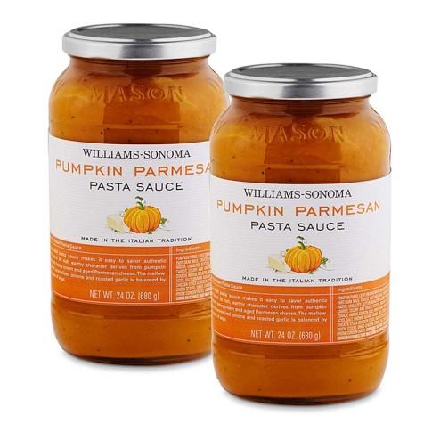 Pumpkin Parmesan Pasta Sauce, Set of 2
