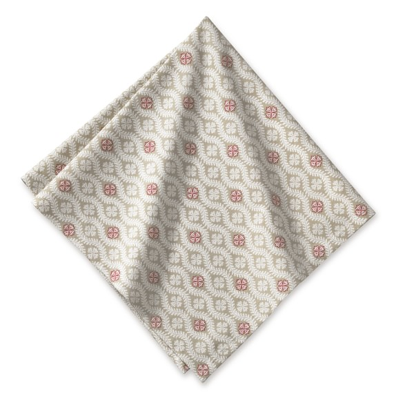 Marseille Napkin, Set of 4, Khaki