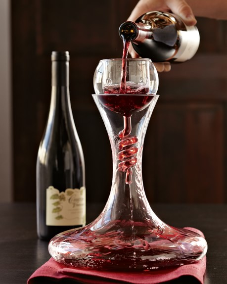 Twister Aerator & Decanter with Stand Set