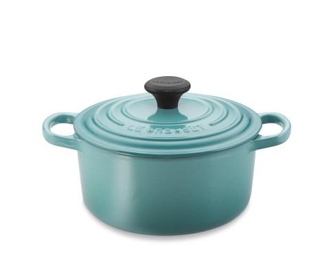 Le Creuset Signature Cast-Iron Round Dutch Oven, 2-Qt., Caribbean